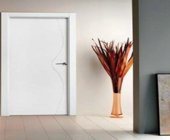 Puertas de interior lacadas blancas