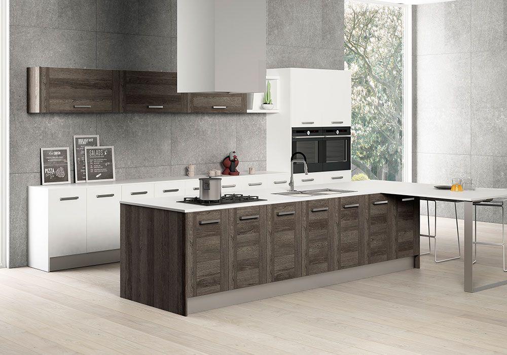 Cocina italiana con instalacion desdes 230 metro lineal - Precio modulos de cocina ...