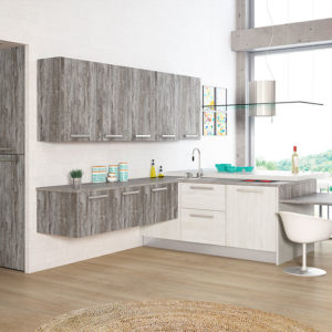 cocinas modernas maderas